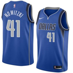 2017-18 Dirk Nowitzki Dallas Mavericks #41 Icon Royal