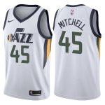 2017-18 Donovan Mitchell Utah Jazz #45 Association White