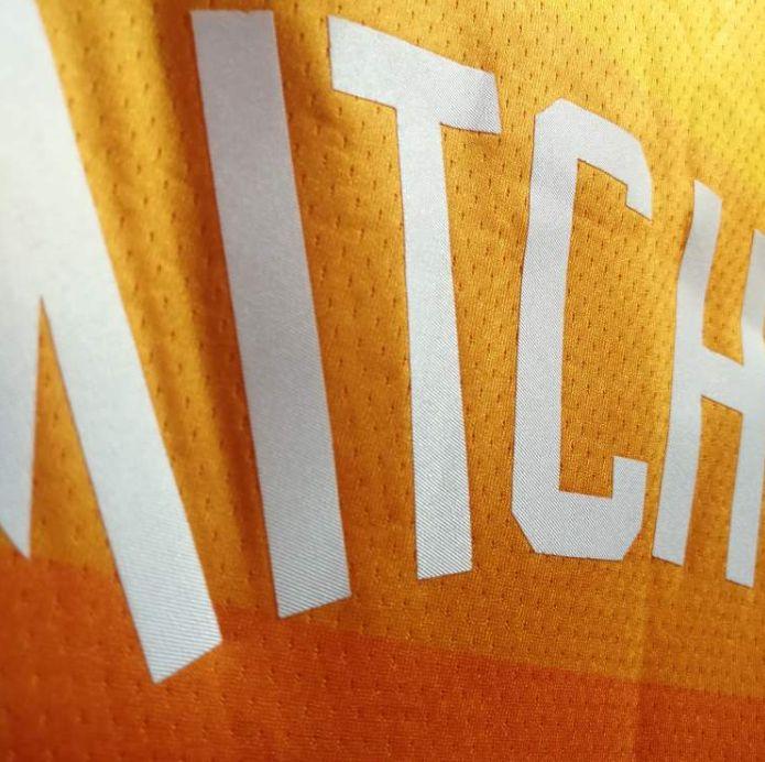 2017-18 Donovan Mitchell Utah Jazz #45 City Edition Red