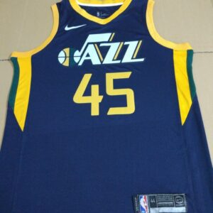 2017-18 Donovan Mitchell Utah Jazz #45 Icon Navy