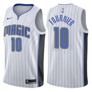 2017-18 Evan Fournier Orlando Magic #10 Association White