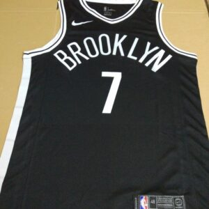 2017-18 Jeremy Lin Brooklyn Nets #7 Icon Black