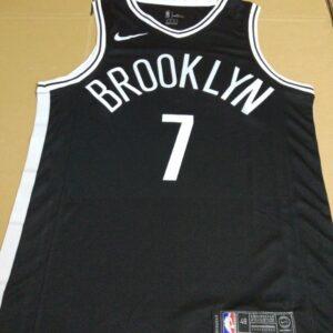 2017-18 Jeremy Lin Brooklyn Nets #7 Icon Black