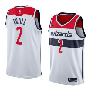 2017-18 John Wall Washington Wizards #2 Association White