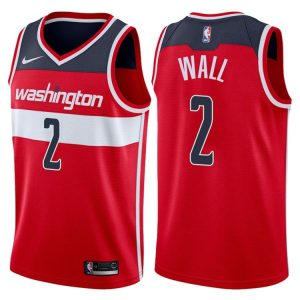2017-18 John Wall Washington Wizards #2 Icon Red