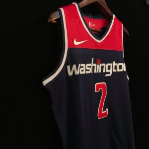 2017-18 John Wall Washington Wizards #2 Statement Navy