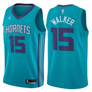 2017-18 Kemba Walker Hornets #15 Icon Teal