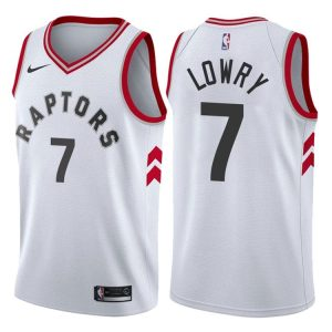 2017-18 Kyle Lowry Toronto Raptors #7 Association White