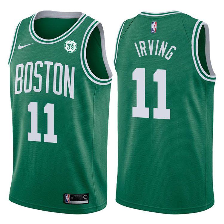 2017-18 Kyrie Irving Boston Celtics #11 Icon Green