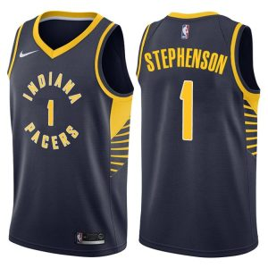 2017-18 Lance Stephenson Pacers #1 Icon Navy