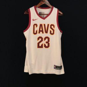 2017-18 LeBron James Cleveland Cavaliers #23 Association White