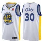 2017-18 Stephen Curry Warriors #30 Association Rakuten White