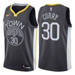 2017-18 Stephen Curry Warriors #30 Statement Gray