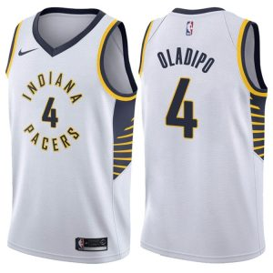 2017-18 Victor Oladipo Indiana Pacers #4 Association White