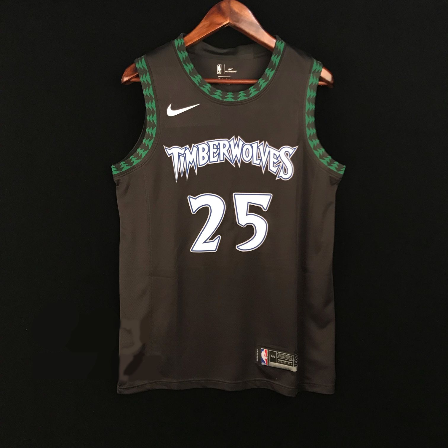 2018-19 Derrick Rose Minnesota Timberwolves #25 Classic Edition Black