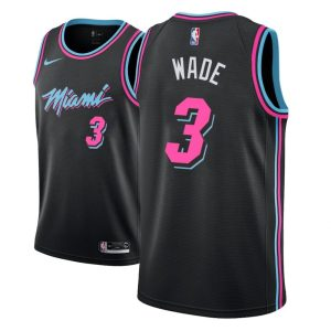 2018-19 Dwyane Wade Miami Heat #3 City Edition Black