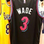 2018-19 Dwyane Wade Miami Heat #3 City Edition Black-5