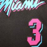 2018-19 Dwyane Wade Miami Heat #3 City Edition Black-7