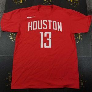 2018-19 Houston Rocket Harden 13 Icon Red Tee