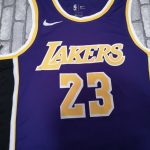 2018-19 James Los Angeles Lakers #23 Statement Purple-1
