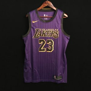 2018-19 Lakers LeBron James Purple City Edition