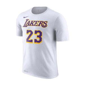 2018-19 LeBron James Lakers White Tee