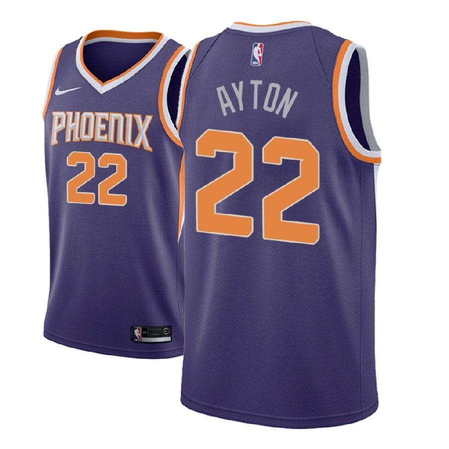 2018 NBA Draft DeAndre Ayton Phoenix Suns #22 Icon Blue