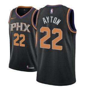 2018 NBA Draft DeAndre Ayton Phoenix Suns #22 Statement Black
