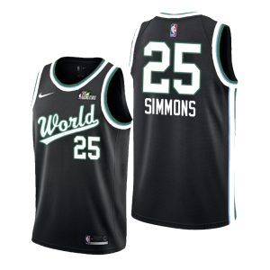 2019 Ben Simmons Team World #25 Rising Star Black