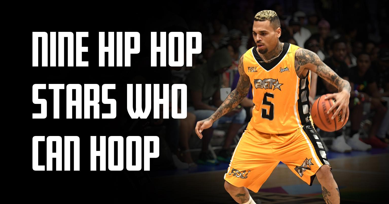 9 хип-хоп звезд, которые действительно умеют играть в баскетбол.