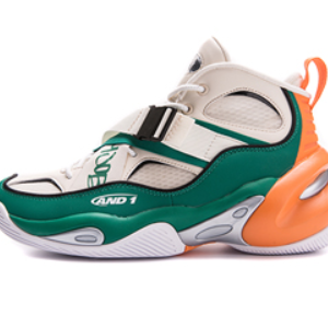 AND1 THE X STRAP HI Green Orange