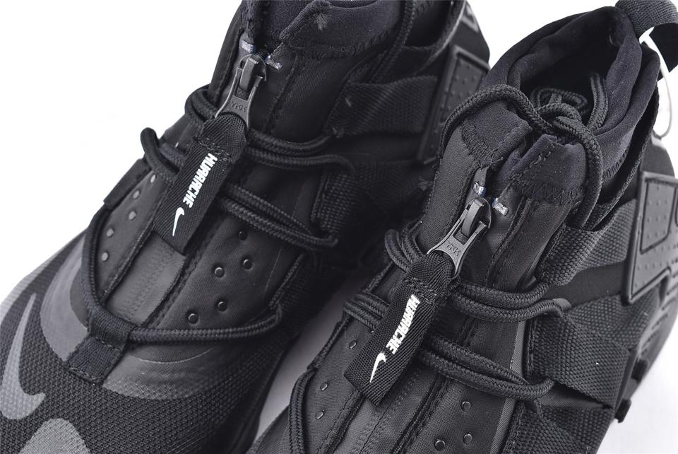 Air Huarache Gripp Triple Black 3