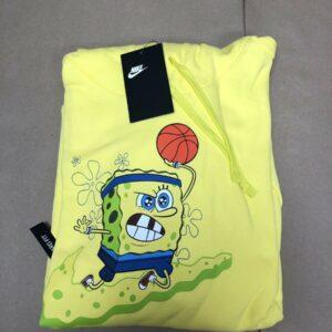 Nike Kyrie x Spongebob Dri-Fit Hoodie Dynamic Yellow