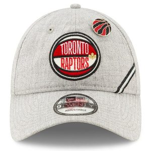 Raptors New Era 2019 NBA Draft 9TWENTY Hat Gray