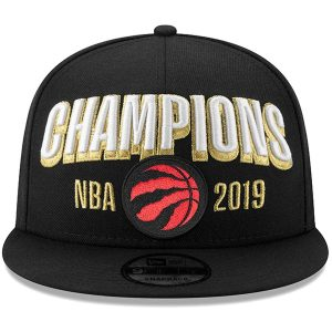 Raptors New Era 2019 NBA Finals Champions Snapback Black