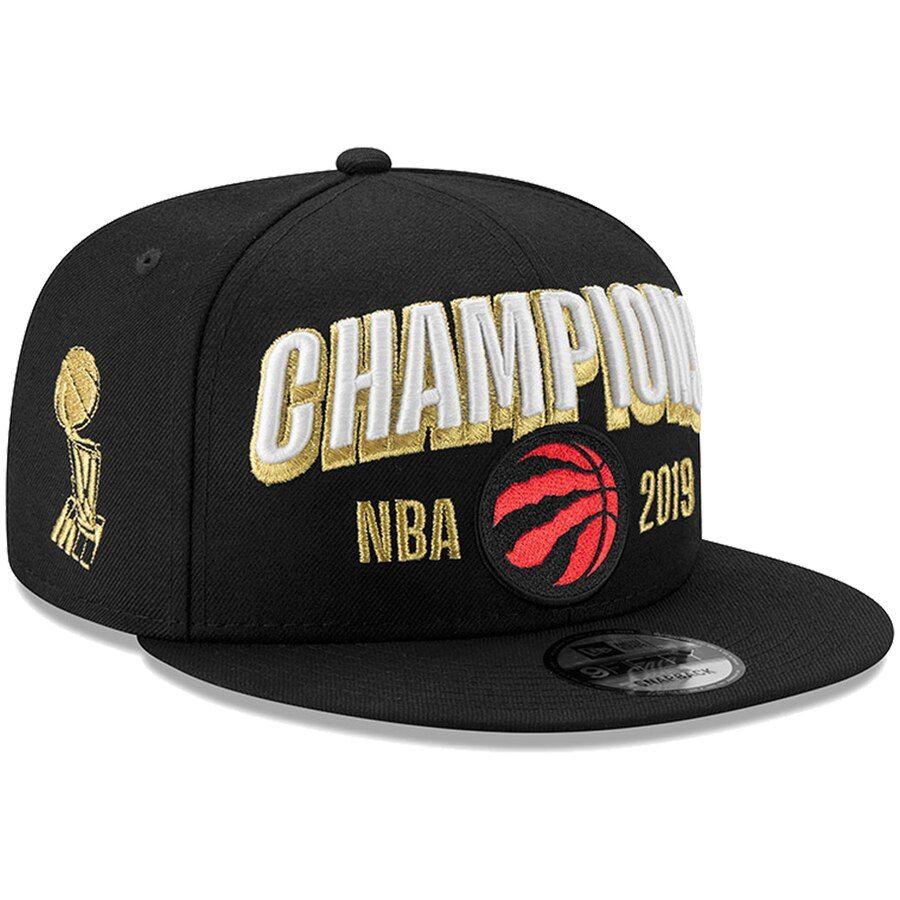 Raptors New Era 2019 NBA Finals Champions Snapback Black-2