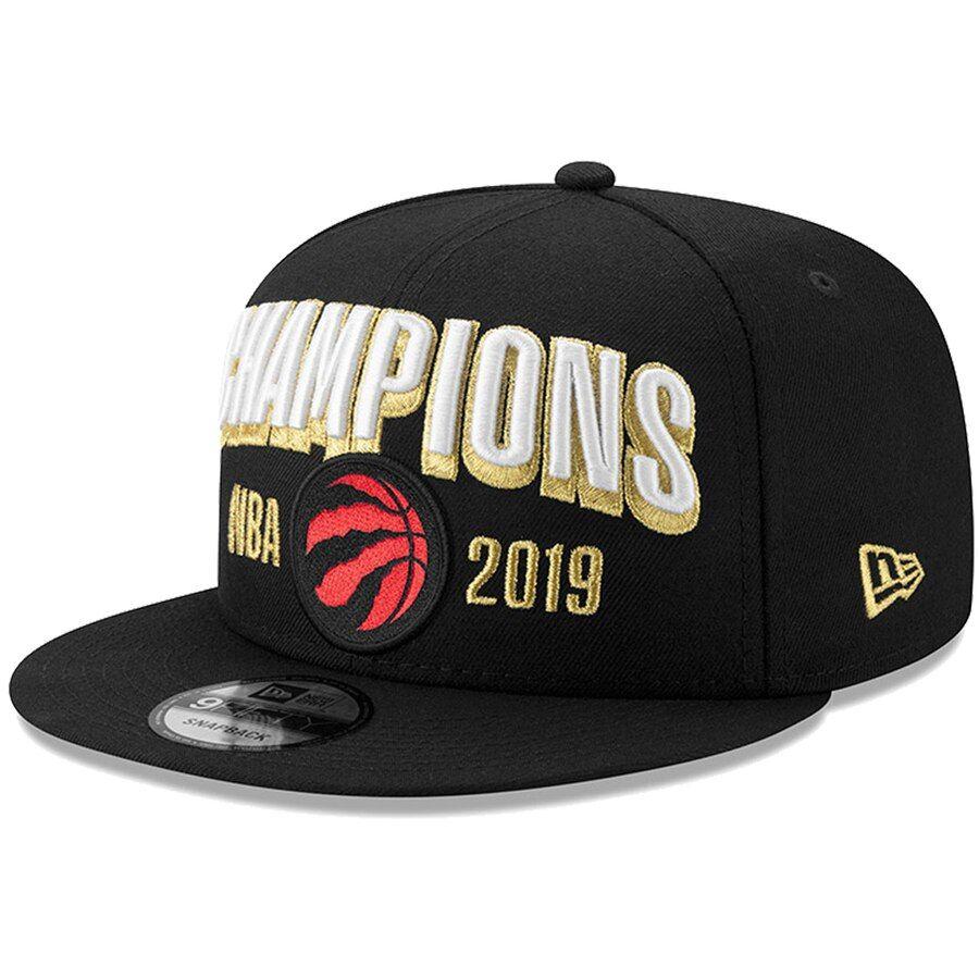 Raptors New Era 2019 NBA Finals Champions Snapback Black