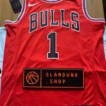 Rose Chicago Bulls Nike Icon Swingman Jersey Red-1