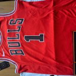 Rose Chicago Bulls Nike Icon Swingman Jersey Red-2