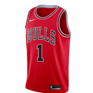 Rose Chicago Bulls Nike Icon Swingman Jersey Red