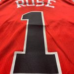 Rose Chicago Bulls Nike Icon Swingman Jersey Red-5