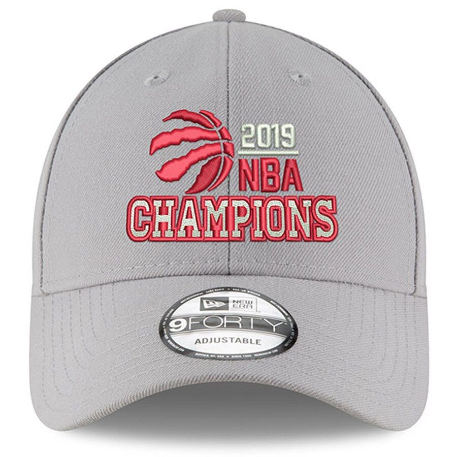 Toronto Raptors New Era 2019 NBA Finals Champions Hat - Gray