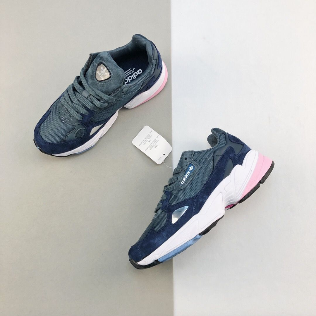 Wmns adidas Falcon Raw Grey-9
