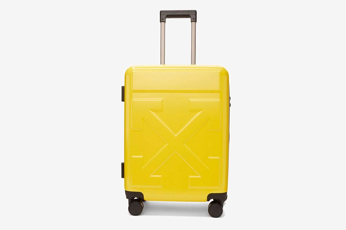 Off-White ™ представил новую серия чемоданов для ручной клади