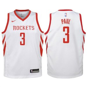 2017-18 Chris Paul Houston Rockets #3 Association White