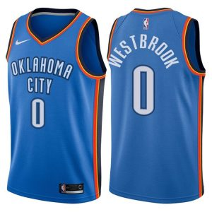 2017-18 Russell Westbrook Oklahoma City Thunder #0 Icon Blue