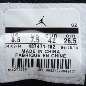 Air Jordan 14 Retro Black Toe 2014