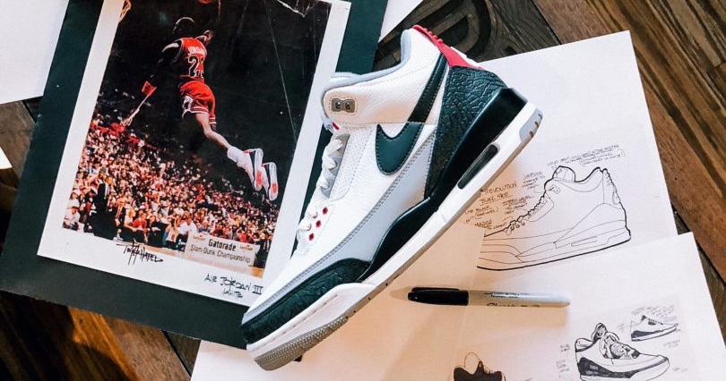 30 лет спустя, Тинкер говорит о Air Jordan 3
