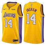 2017-18 Brandon Ingram Los Angeles Lakers #14 Icon Gold