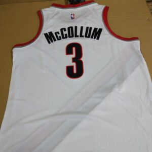 2017-18 CJ McCollum Portland Trail Blazers #3 Association White